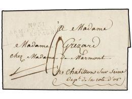 ESPAÑA: PREFILATELIA. 1809 (17 Abril). EJÉRCITOS FRANCESES. SALAMANCA A FRANCIA. Marca... - Stamps