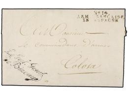 ESPAÑA: PREFILATELIA. 1810 (1 Noviembre). EJÉRCITOS FRANCESES.  S. SEBASTIÁN A TOLOSA.... - Stamps