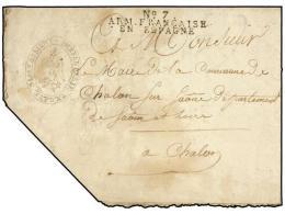 ESPAÑA: PREFILATELIA. 1811. EJÉRCITOS FRANCESES. ASTORGA A FRANCIA. ´ACTE DE... - Stamps
