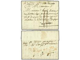 ESPAÑA: PREFILATELIA. 1811 (17 Julio). EJÉRCITOS FRANCESES. STRASBOURG (Francia) A... - Stamps