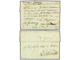 ESPAÑA: PREFILATELIA. 1811 (9 Marzo). EJÉRCITOS FRANCESES. FONTENAY (Francia) Dirigida A Un... - Stamps