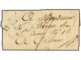 ESPAÑA: PREFILATELIA. 1811 (11 Septiembre). EJÉRCITOS FRANCESES. VITORIA A FRANCIA. Marca... - Stamps