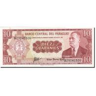 Paraguay, 10 Guaranies, 1952, KM:196b, 1952, SPL - Paraguay