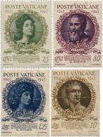 Ref. 98239 * NEW *  - VATICAN . 1944. 4th CENTENARY OF VATICAN ACADEMY. CUARTO CENTENARIO DE LA ACADEMIA VATICANA - Nuovi