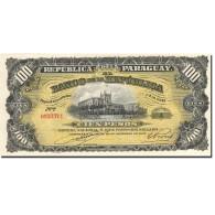 Paraguay, 100 Pesos, 1907, KM:122a, 1907-12-26, SPL - Paraguay