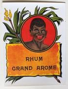 Belle étiquette Ancienne RHUM Grand Arôme - Rhum