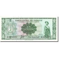 Paraguay, 1 Guarani, 1952, KM:193a, 1952, SPL - Paraguay