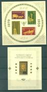BULGARIA - MNH/*** LUXE - 1959 -  Yv BLOC 5-6 Mi BLOCK 5-6 - Lot 15558 - Hojas Bloque