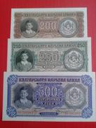 Bulgarian Banknotes 1943 Year - Bulgarien