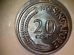 Singapore 20 Cents 1979 - Singapur