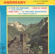 45 TOURS EP ANDREANY LE PATRE DES MONTAGNES + 3 TRIANON 4454 - World Music