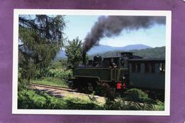68 TRAIN Locomotive La Mallet  020 + 020 Et Sa Rame De Voitures Dites Palavas De 1892 Entre Guewenheim Et Sentheim - Frankreich