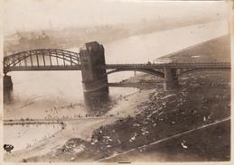 Foto 1921 KOLN (Cologne) - Ansicht, Eine Brücke, Südbrücke, 33ème RAO, Luftbild, Photo Aérienne (A173) - Koeln