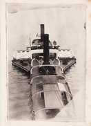 Photo 1921 KOLN ?? (Cologne) - Un Bâteau à Aubes Sur Le Rhin, à Vapeur, Péniche (A173) - Ships