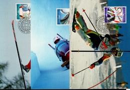 Liechtenstein MK/Nr. 121 Olympische Winterspiele 3 Maximumkarte - Maximum Cards