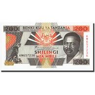 Tanzania, 200 Shilingi, Undated (1993), KM:25a, NEUF - Tanzanie