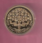 NEDERLAND MEDAL 1994 PRINSES JULIANA 85 YEAR ANNIVERSARY - Pièces écrasées (Elongated Coins)