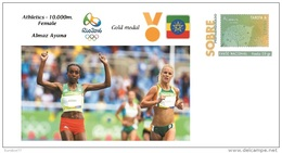 Spain 2016 - Olympic Games Rio 2016 - Gold Medal 10.000m Female Ethiopia Cover - Juegos Olímpicos