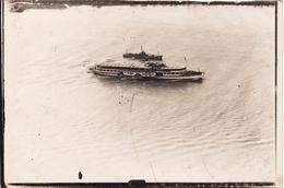 Photo 1921 KOLN ?? (Cologne) - Un Bâteau à Aubes Sur Le Rhin, à Vapeur, Péniche (A173) - Bateaux
