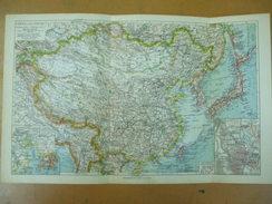 China Japan Farbenkarte Leipzig Geopolitische Karte Des Stillen Ozeans - Maps