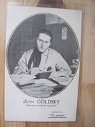 Jean Goldsky (septieme Année De Captivité) - Personnages