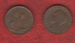 Un Centesimo 1914 Vitt. Emanuele III° Regno D'Italia - 1861-1946 : Regno