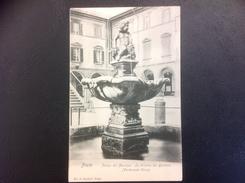 PRATO Piazza Del Municipio. La Fontana Del Bacchino - Prato