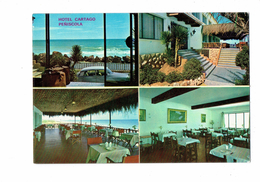 Cpm - Espagne - PENISCOLA - Multivues - HOTEL CARTAGO - Salle à Manger - Spain