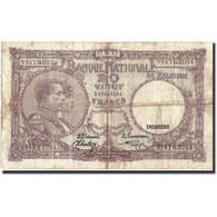 Belgique, 20 Francs, 1943, KM:111, 1947-01-27, TB - [ 6] Treasury