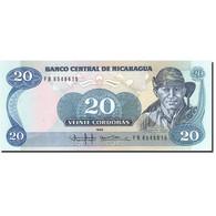 Nicaragua, 20 Cordobas, 1985-1988, KM:152, 1985, NEUF - Nicaragua