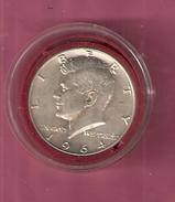 AMERIKA 1/2 DOLLAR 1964D ZILVER JOHN F. KENNEDY - Etats-Unis