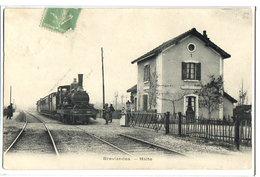BREVIANDES - LA HALTE - TRAIN GROS PLAN - France