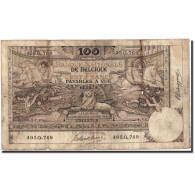 Belgique, 100 Francs, 1912, KM:71, 1912-12-12, TB - [ 2] 1831-... : Belgian Kingdom