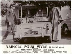 Cinéma Photo De Film Marocain : Vaincre Pour Vivre. Format 280/220 Mm - Other