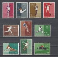 SAINT-MARIN . YT 489/498 Neuf ** Jeux Olympiques De Rome 1960 (voir Détail) - Neufs