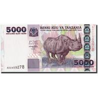 Tanzania, 5000 Shilingi, Undated (2003), KM:38, NEUF - Tanzanie