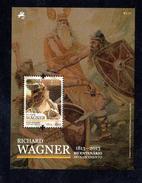 RICHARD WAGNER ** - 2013 - Blocks & Sheetlets