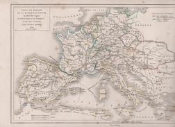 TABLEAU DES POSSESSIONS DE LA MAISON D'AUTRICHE PENDANT LES REGNES DE CHARLES QUINT ET PHILIPPE II / MAPPEMONDE COLONIES - Mapas Geográficas