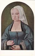 ARTS---RARE-NATIONAL GALLERY OF ART WASHINGTON--margatha Boghe,wife Of Joris W. Vezelze By Joos Van Cleve--voir  2 Scans - Schilderijen