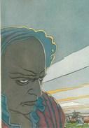 SCHUITEN. RENARD. Le Rail. Carte Postale Les Humanoïdes Associés Par Les Dessinateurs De Metal Hurlant. 1982 - Cartes Postales