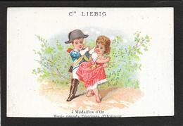 Chromo Liebig S17 F-gendarme Cerca Di Prendere Bimba - R4 - 1872/73 - Liebig