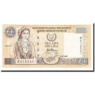 Chypre, 1 Pound, KM:60a, 1997-10-01, SPL+ - Chypre