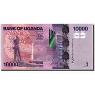 Uganda, 10,000 Shillings, 2013, KM:52b, 2013, NEUF - Ouganda