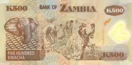 ZAMBIA P. 43b 500 Z 2003 UNC - Zambia