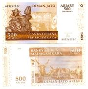 Madagascar - 500 Ariary 2004 (UNC) - Madagaskar