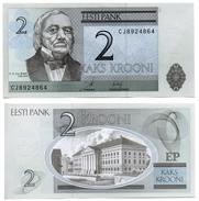 Estonie - 2 Krooni 2007 (UNC) - Estonia