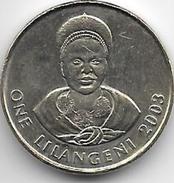 *SWAZILAND 1 Lilangeni 2003  KM 45  UNC - Swaziland