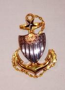 FREGIO PER BERRETTO  USCG SCPO - US COAST GUARD SENIOR CHIEF PETTY OFFICER - MARCATO ORIGINALE - Marine