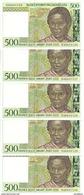MADAGASCAR 500 FRANCS ND1994 UNC P 75 ( 5 Billets ) - Madagascar