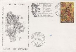 HISTORY, WW2, DEPORTATION OF GERMANS FROM ROMANIA TO RUSSIA, SPECIAL COVER, 1995 - Guerre Mondiale (Seconde)